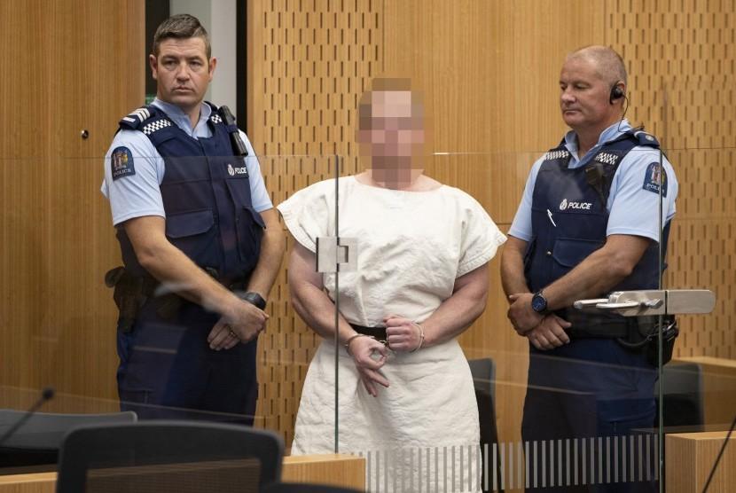 Pelaku Penembakan di Masjid Selandia Baru Protes Tidak Bisa Menerima Telepon di Penjara