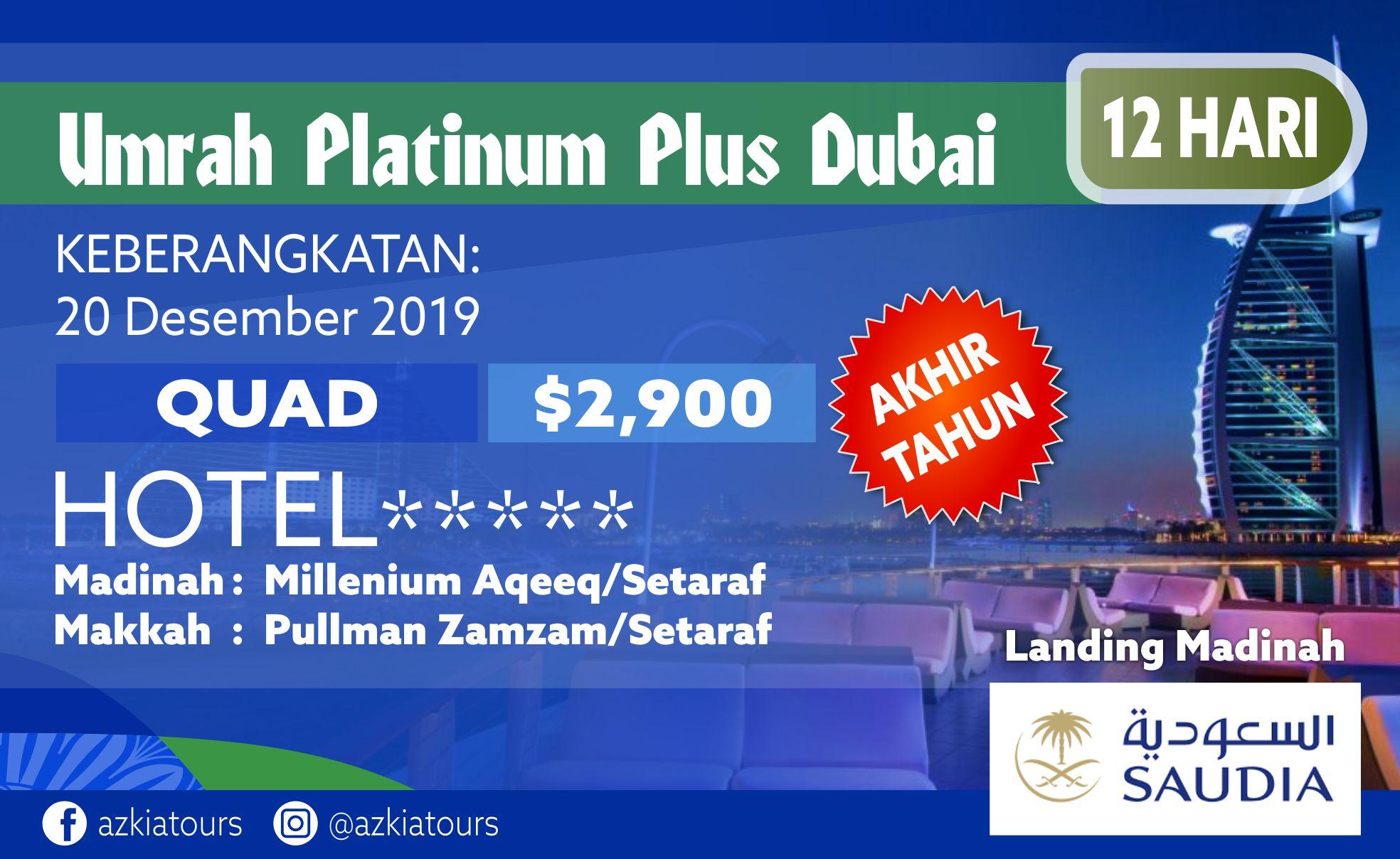 Umrah Platinum Plus Dubai