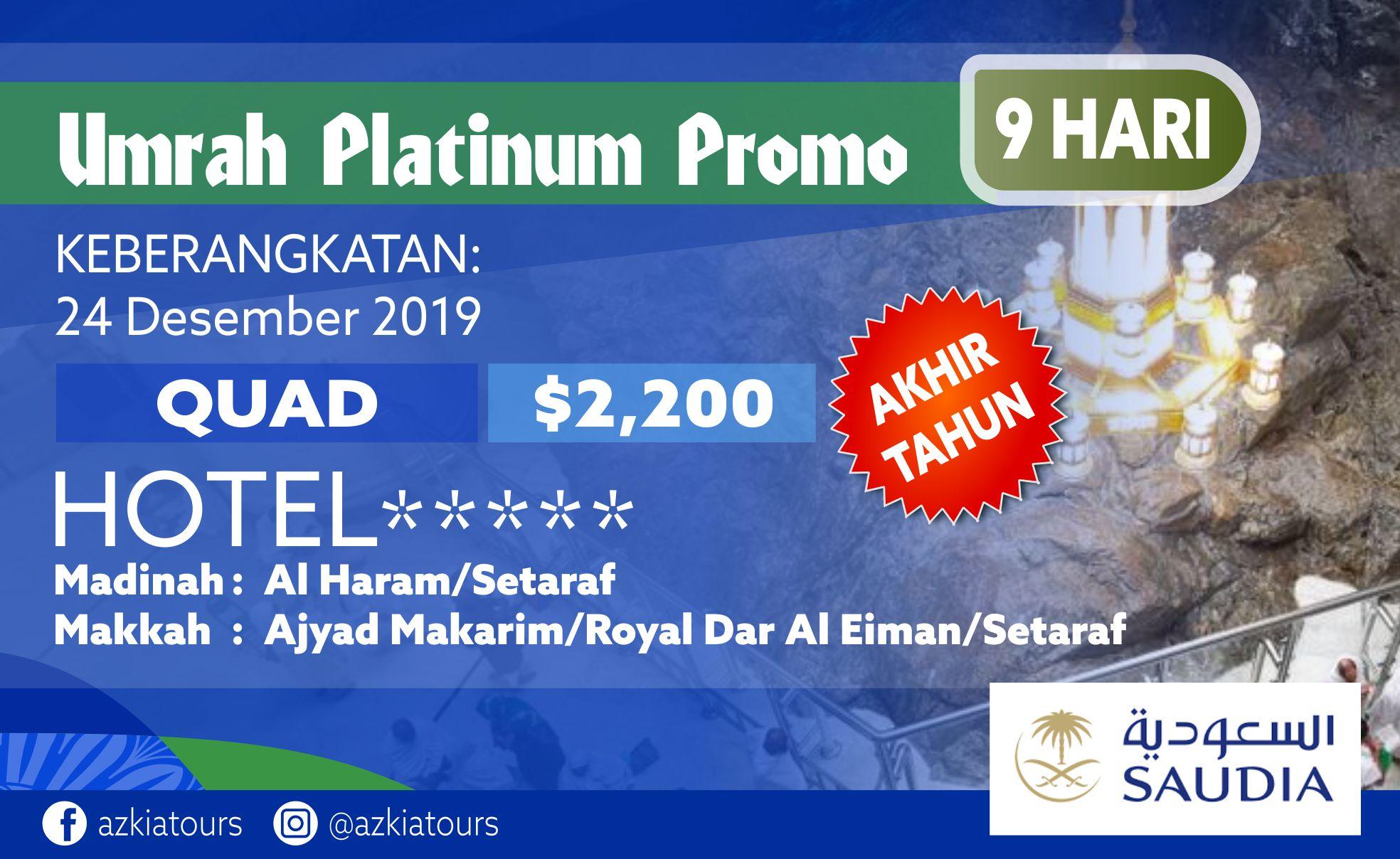 Umrah Platinum Promo